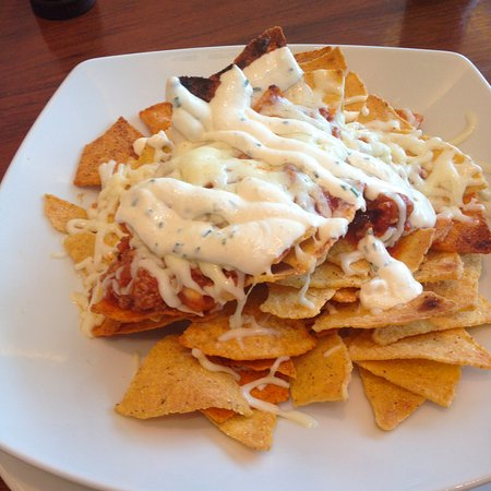 The Europe Hotel & Resort: Nachos served in the lobby