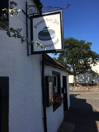 Leven, UK: Nov 2016: New Ownership at the Kinneuchar Inn