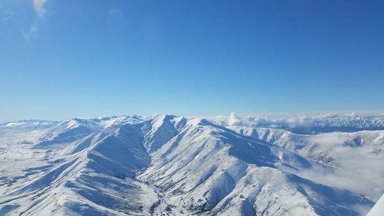 Timaru, Selandia Baru: Mountain Views