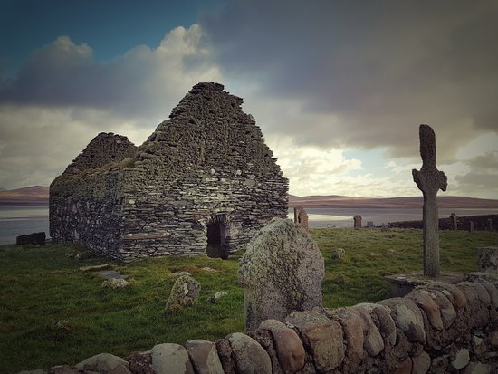 Islay, UK: Ardnave Chapel and Cross
