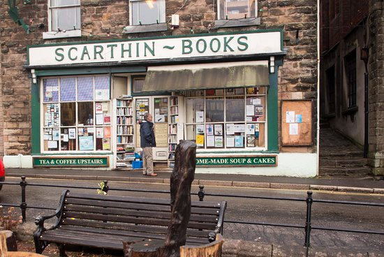 Scarthin Books: perfect combination, coffee bar and good books