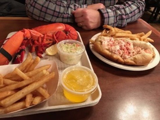 North Hampton, Nueva Hampshire: Lobster and Lobster roll