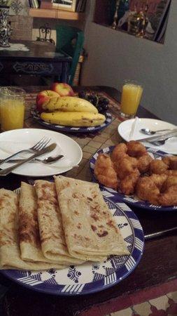 Dar Meziana: Desayuno