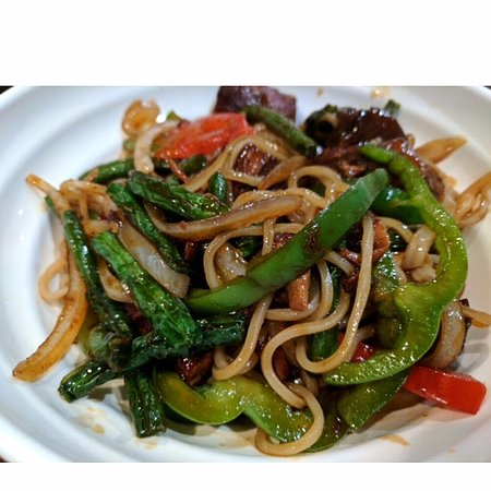 Vic & Anthony's Steakhouse - Las Vegas: String Beans w/ Braised Pork Chow Mein