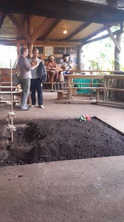 Te Ra'ai: Cooking pit