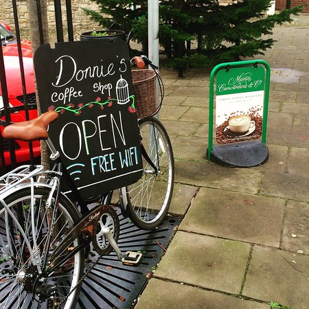 Caldicot, UK: Donnies Coffee Shop