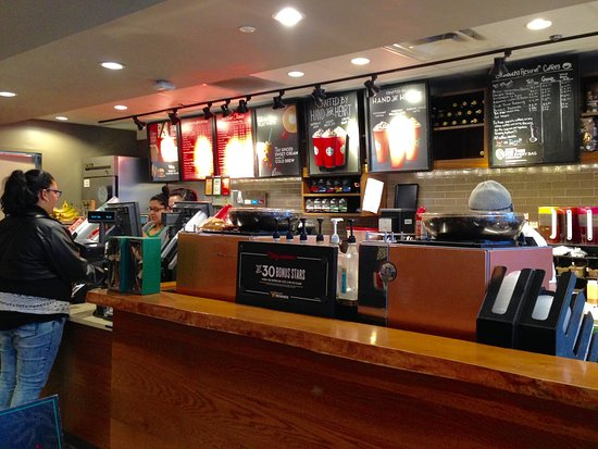 Cranston, RI: Starbucks - Interior, Order Area