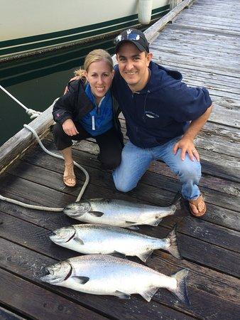 Quadra Island, Canada: The spoils!