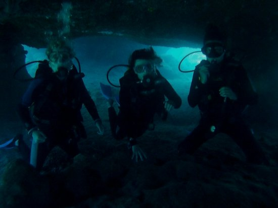 Rodos Diving Center: Under the water
