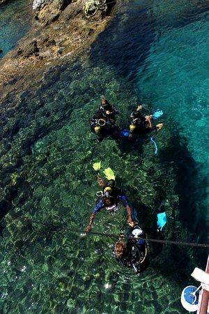 Rodos Diving Center: The course