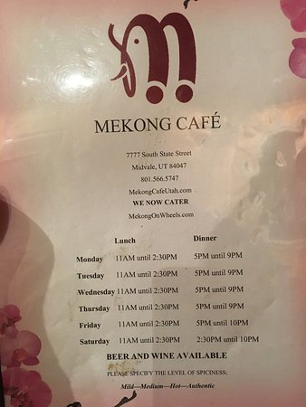 Mekong Cafe Thai Seafood: photo2.jpg