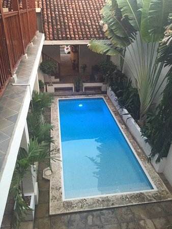 Azul Restaurante: The pool