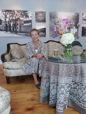 Sharon Springs, NY: Melissa is on a Spacation at Spring House Spa!!