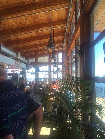 Interior view of the restaurant, Bridgemans Bistro 740 Handy Rd, Mill Bay, British Columbia