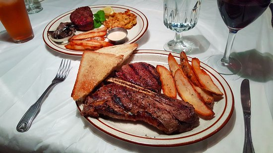 Muttley's Downtown: T-Bone and Surf & Turf
