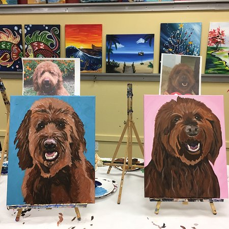 Paint Your Pet Marley Picture Of Painting With A Twist Sarasota Tripadvisor