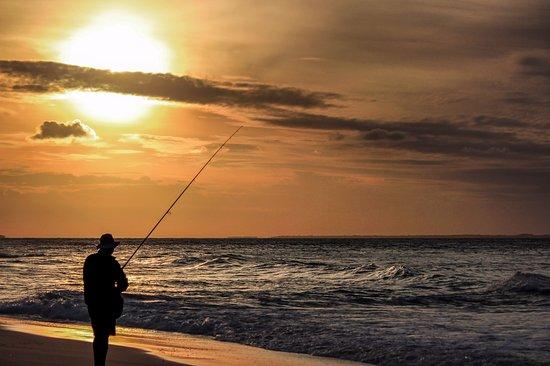North Stradbroke Island, Australia: Deadmans beach at sunset