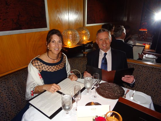 Restaurant Gary Danko is the perfect place to dress up and celebrate a special occasion!