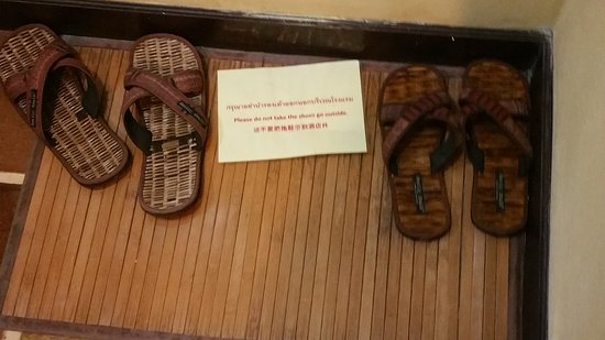 ea7edaff902d Bedroom slippers - Picture of Chiangmai Night Bazaar Boutique Hotel ...