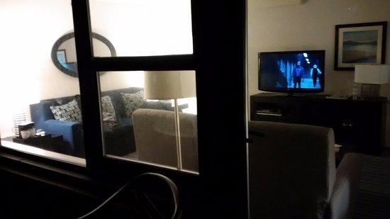 โรงแรมแอฟฟิเนีย การ์เดนส์: Room from the balcony