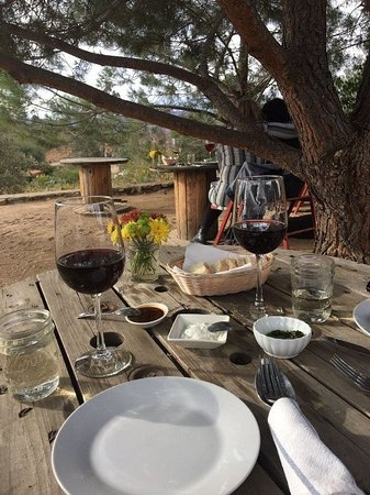 Valle de Guadalupe, Mexico: Wine. bread and the valley