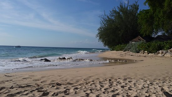 Sunset Crest, Barbados: Beach past Folkstone Marine Park