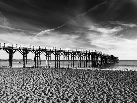 William Randolph Hearst Memorial Beach: 乾靜的海灘