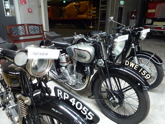 Invercargill, Νέα Ζηλανδία: Internation Norton from late 1930's not as labelled!