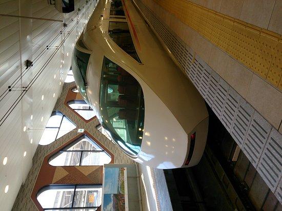 Kanto, Japan: 行きは、混んでいましたが、快適でした。