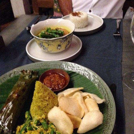balique restaurant indonesian food yum oh