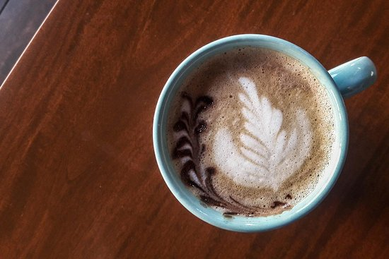 Caramel Late Coffee at Pagoda Cafe Punta Mita