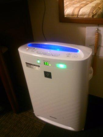 Hotel Route Inn Misawa: air-cleaner