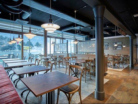 Restaurant bistrot des bains saillon restaurant for S bains restaurant
