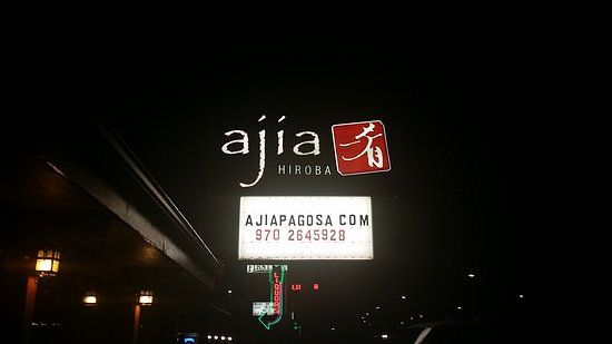 Ajia: Dinner. ...