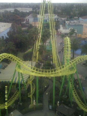 Buena Park, CA: Boomerang ride