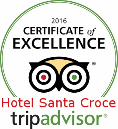 Hotel Santa Croce: Certificate of Excellence 2016