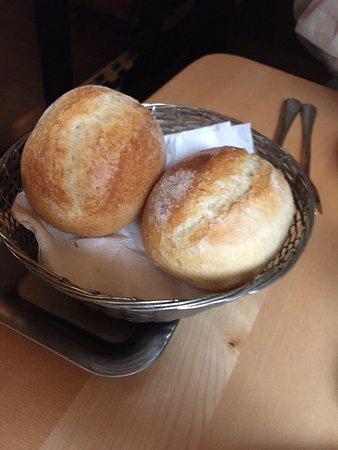 hot breakfast rolls
