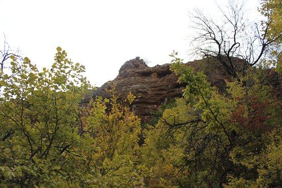 Red Caves (Kizil-Koba): горы по дороге