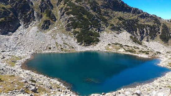 Rila Mountains: mountain lake