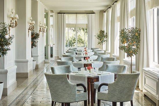 La Véranda intérieur - Picture of Grand-Hotel du Cap-Ferrat, St-Jean ...