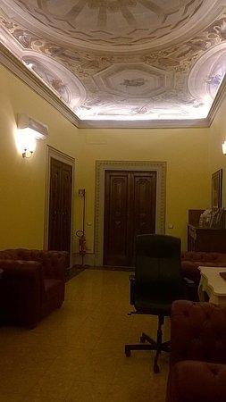 Hotel dei Macchiaioli: sala lettura