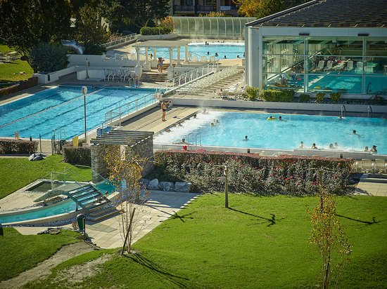 Saillon, İsviçre: Les trois piscines