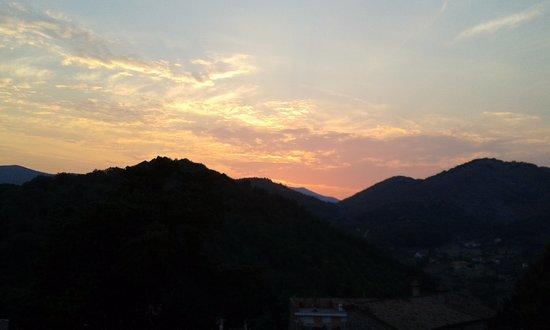 Pico, Italien: al tramonto