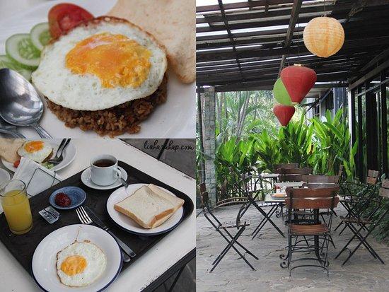 Shinju Apartement Cilandak: Breakfast Menu