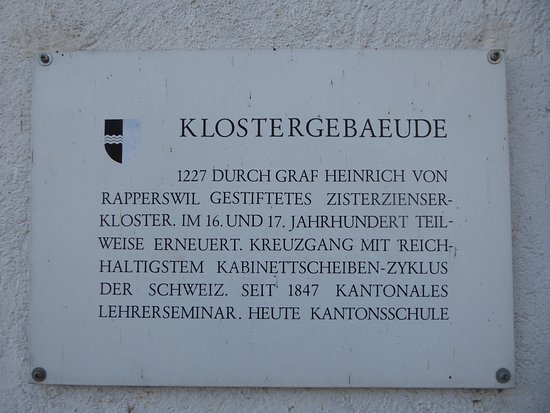 Wettingen, Sveits: Information board