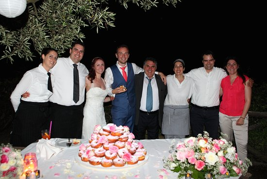 Don Pedro Family and Donut Cake made by them
