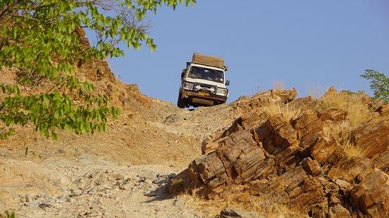 Kunene Region, Namibia: Nur für geübte Fahrer empfehlenswert