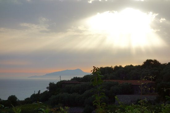 Amazing Sunset view from the Farm - Don Pedro wedding venue