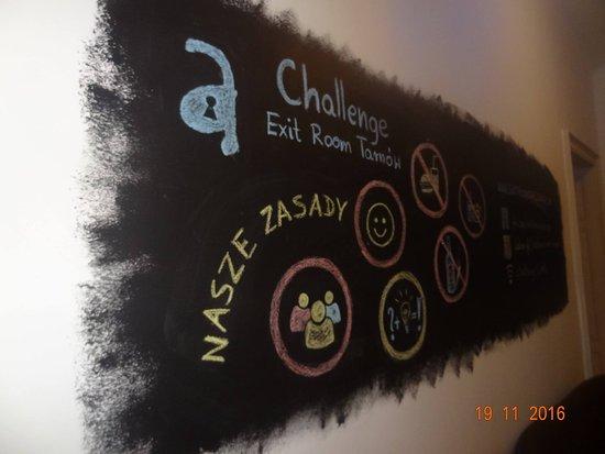 Challenge Exit Room