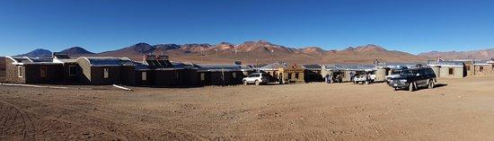 Nor Lípez, Боливия: hotel and view